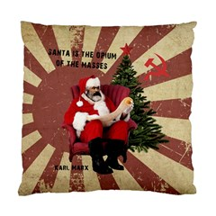 Karl Marx Santa  Standard Cushion Case (one Side) by Valentinaart