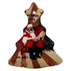 Karl Marx Santa  Christmas Tree Ornament (two Sides)