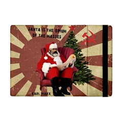 Karl Marx Santa  Apple Ipad Mini Flip Case by Valentinaart
