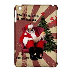 Karl Marx Santa  Apple Ipad Mini Hardshell Case (compatible With Smart Cover) by Valentinaart