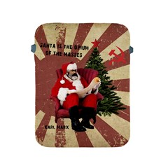 Karl Marx Santa  Apple Ipad 2/3/4 Protective Soft Cases by Valentinaart
