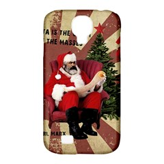 Karl Marx Santa  Samsung Galaxy S4 Classic Hardshell Case (pc+silicone) by Valentinaart