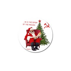 Karl Marx Santa  Golf Ball Marker (4 Pack) by Valentinaart