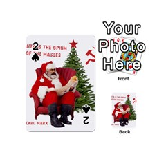Karl Marx Santa  Playing Cards 54 (mini)  by Valentinaart