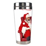 Karl Marx Santa  Stainless Steel Travel Tumblers Left
