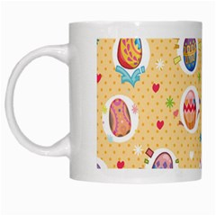 Fun Easter Eggs White Mugs by allthingseveryone