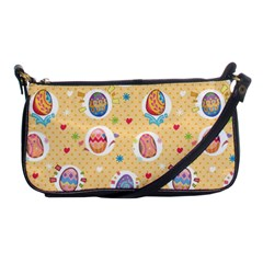 Fun Easter Eggs Shoulder Clutch Bags by allthingseveryone