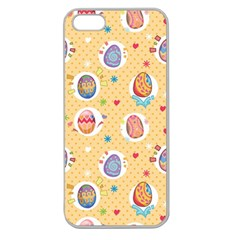 Fun Easter Eggs Apple Seamless Iphone 5 Case (clear) by allthingseveryone