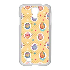 Fun Easter Eggs Samsung Galaxy S4 I9500/ I9505 Case (white) by allthingseveryone