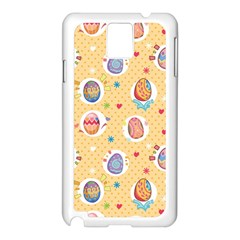 Fun Easter Eggs Samsung Galaxy Note 3 N9005 Case (white) by allthingseveryone