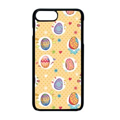 Fun Easter Eggs Apple Iphone 8 Plus Seamless Case (black) by allthingseveryone