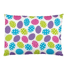 Polka Dot Easter Eggs Pillow Case (two Sides) by allthingseveryone