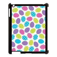 Polka Dot Easter Eggs Apple Ipad 3/4 Case (black) by allthingseveryone