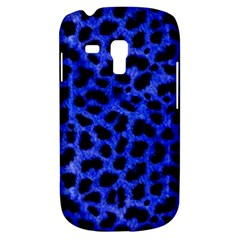 Blue Cheetah Print  Galaxy S3 Mini by allthingseveryone