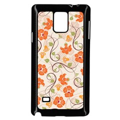 Honeysuckle Delight Samsung Galaxy Note 4 Case (black) by allthingseveryone