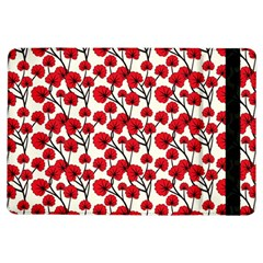 Red Flowers Ipad Air Flip by allthingseveryone