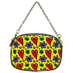 Spring Love Chain Purses (one Side)  by allthingseveryone