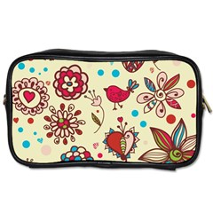 Spring Time Fun Toiletries Bags 2 Side by allthingseveryone