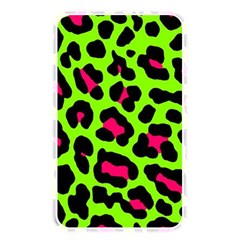 Neon Green Leopard Print Memory Card Reader by allthingseveryone