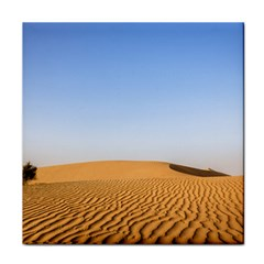 Desert Dunes With Blue Sky Tile Coasters by Ucco
