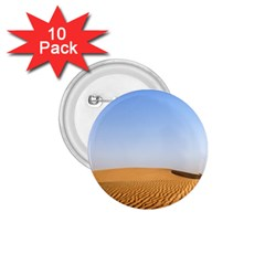 Desert Dunes With Blue Sky 1 75  Buttons (10 Pack)