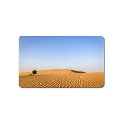 Desert Dunes With Blue Sky Magnet (name Card)