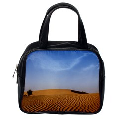 Desert Dunes With Blue Sky Classic Handbags (one Side) by Ucco
