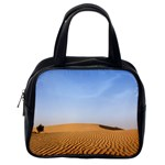 Desert Dunes With Blue Sky Classic Handbags (2 Sides) Back