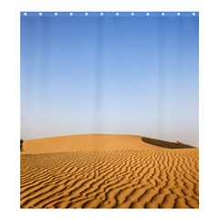 Desert Dunes With Blue Sky Shower Curtain 66  X 72  (large)  by Ucco