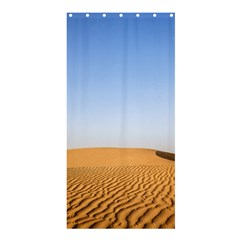 Desert Dunes With Blue Sky Shower Curtain 36  X 72  (stall)  by Ucco