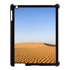 Desert Dunes With Blue Sky Apple Ipad 3/4 Case (black) by Ucco
