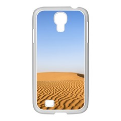 Desert Dunes With Blue Sky Samsung Galaxy S4 I9500/ I9505 Case (white)