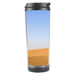 Desert Dunes With Blue Sky Travel Tumbler by Ucco