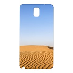 Desert Dunes With Blue Sky Samsung Galaxy Note 3 N9005 Hardshell Back Case by Ucco