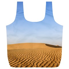 Desert Dunes With Blue Sky Full Print Recycle Bags (l)  by Ucco