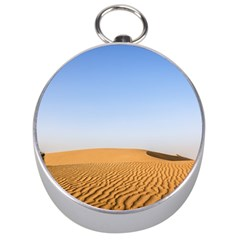 Desert Dunes With Blue Sky Silver Compasses by Ucco