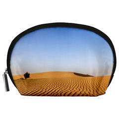 Desert Dunes With Blue Sky Accessory Pouches (large)