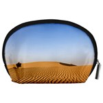 Desert Dunes With Blue Sky Accessory Pouches (Large)  Back