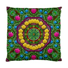 Bohemian Chic In Fantasy Style Standard Cushion Case (two Sides) by pepitasart