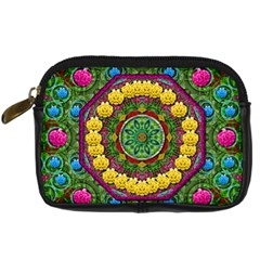 Bohemian Chic In Fantasy Style Digital Camera Cases by pepitasart