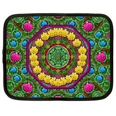 Bohemian Chic In Fantasy Style Netbook Case (xl)  by pepitasart