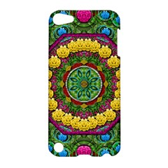 Bohemian Chic In Fantasy Style Apple Ipod Touch 5 Hardshell Case by pepitasart
