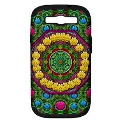 Bohemian Chic In Fantasy Style Samsung Galaxy S Iii Hardshell Case (pc+silicone) by pepitasart