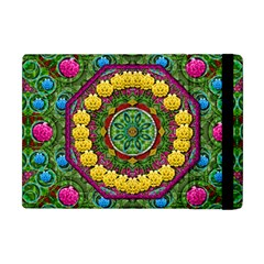 Bohemian Chic In Fantasy Style Apple Ipad Mini Flip Case by pepitasart