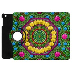 Bohemian Chic In Fantasy Style Apple Ipad Mini Flip 360 Case by pepitasart