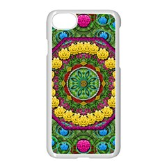 Bohemian Chic In Fantasy Style Apple Iphone 7 Seamless Case (white) by pepitasart