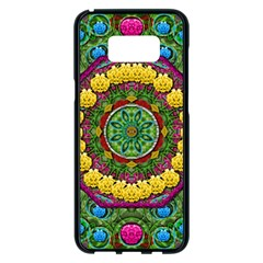 Bohemian Chic In Fantasy Style Samsung Galaxy S8 Plus Black Seamless Case by pepitasart