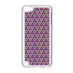Snowflake And Crystal Shapes 5 Apple Ipod Touch 5 Case (white) by Cveti