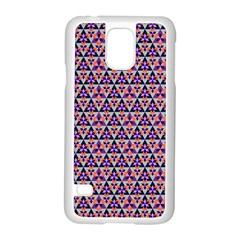 Snowflake And Crystal Shapes 5 Samsung Galaxy S5 Case (white) by Cveti
