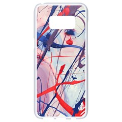 Messy Love Samsung Galaxy S8 White Seamless Case